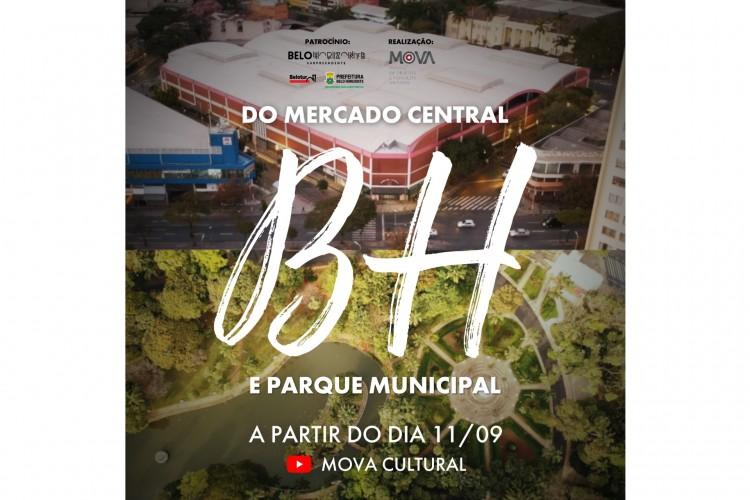 BH DO MERCADO CENTRAL E PARQUE MUNICIPAL